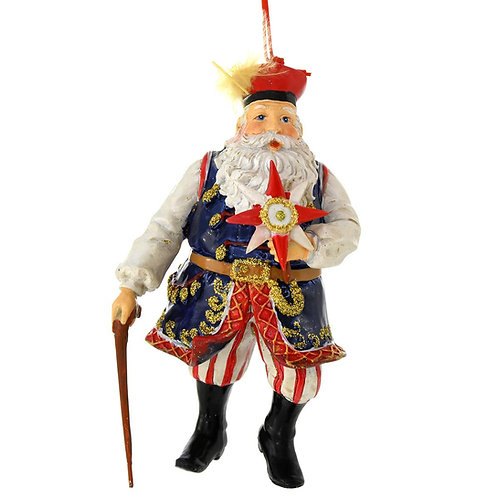 Polish Ornament, Santa