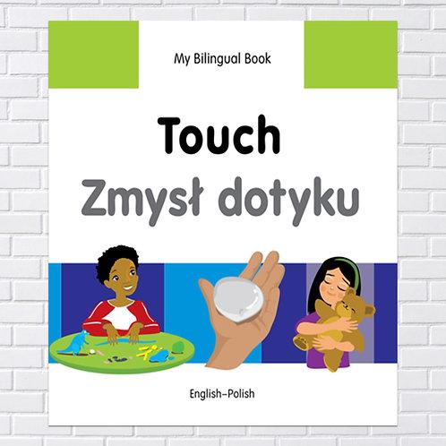 Polish Kids, Bilingual Book - Touch