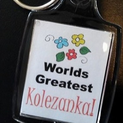 Polish Keychain, Kolezanka (Friend)