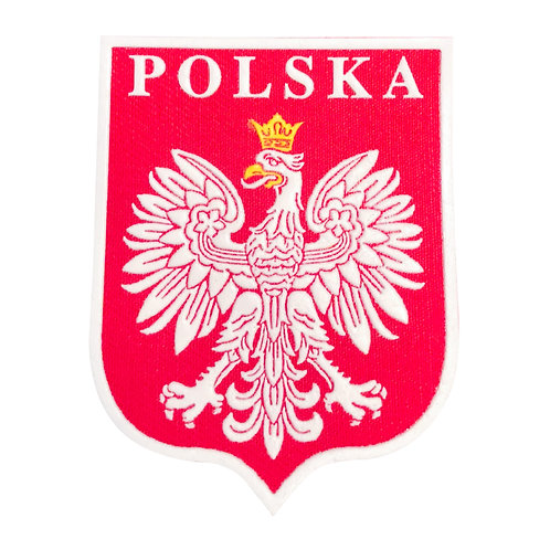 Polish Patch, Shield with Polish Eagle