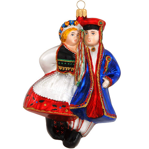 Polish Ornament, Dancing Couple