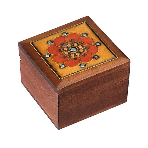 Polish Wood Box, Mini Ring Box