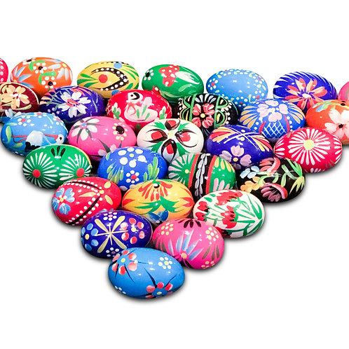 Pisanki Polish Eggs, Med. Assorted Colors