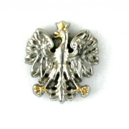 Mini Polish Eagle Pin