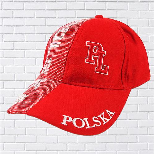 Polska PL Hat Red & White