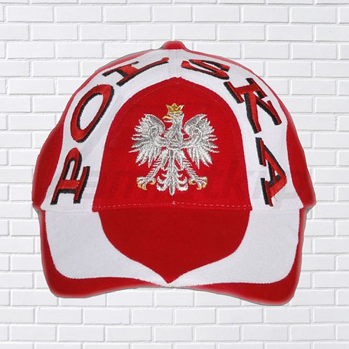 Polska Eagle Red & White Hat