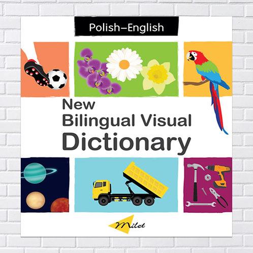 Polish Kids, Bilingual Book -  Visual Dictionary