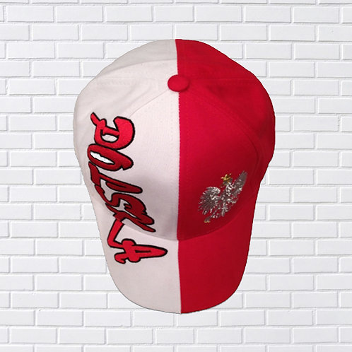 Polish Hat 114, Polska Half White Half Red