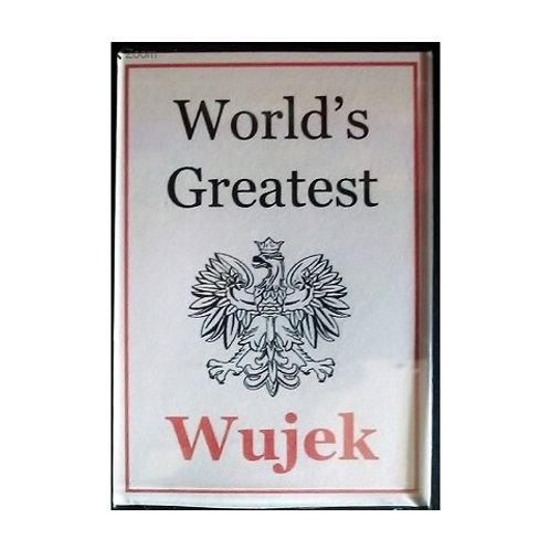 Polish Acrylic Magnet – Wujek ( Uncle)