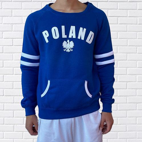 Poland Varsity, Long Sleeve