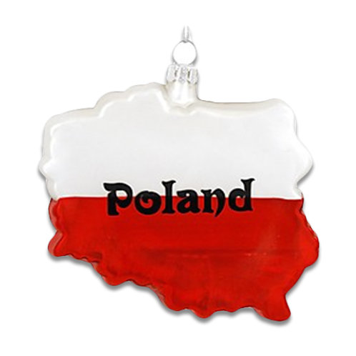 Poland Ornament, Two Sided