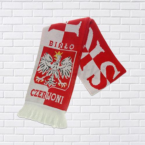 """Polska Scarf, Red & White, """"Biało-Czerwoni"""""""