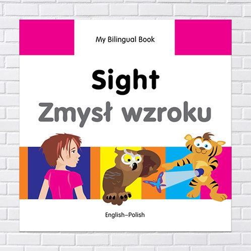Polish Kids, Bilingual Book - Sight