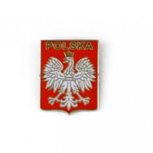 Polska Shield Pin