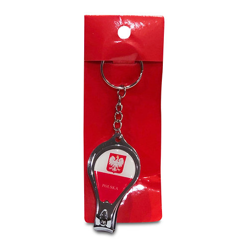 Polish Keychain, Nail Clippers