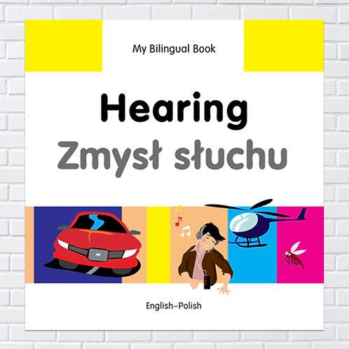 Polish Kids, Bilingual Book - Hearing