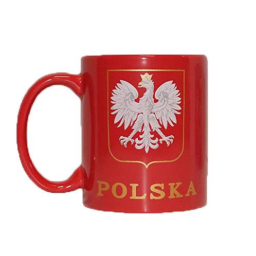 Polish Mug, Polska with Eagle