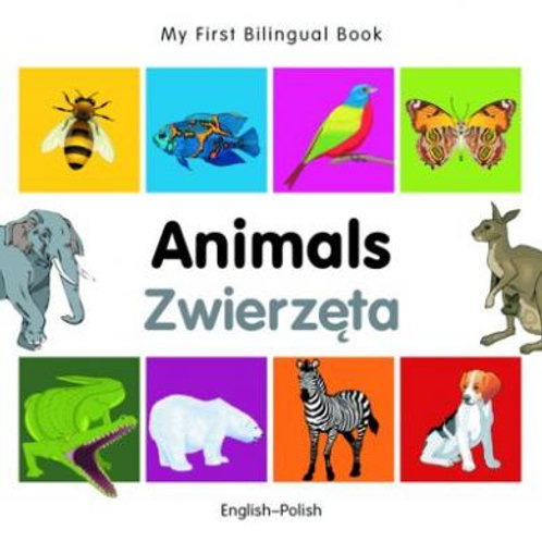 Polish, Kids Bilingual Book – Animals
