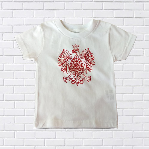 Polish Eagle Firefighter T-Shirt, Infants & Childrens