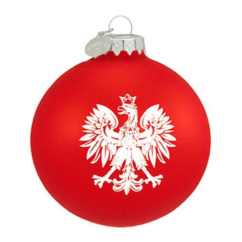 Polish Eagle Red Polish Ornament