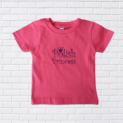 Polish Princess T-Shirt, Infants & Childrens