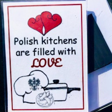 Polish Acrylic Magnet – Polish Kitchens