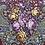 Thumbnail: Polish Scarf, Flower Print, Long Fringe