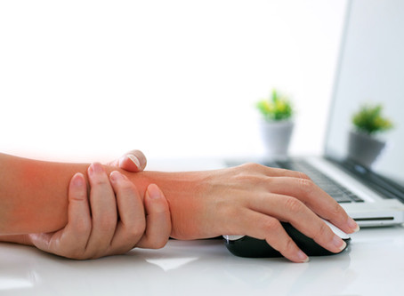 "Tight Wrist, Arms and Shoulders? You may have ""Office Worker Syndrome""    Part 1"