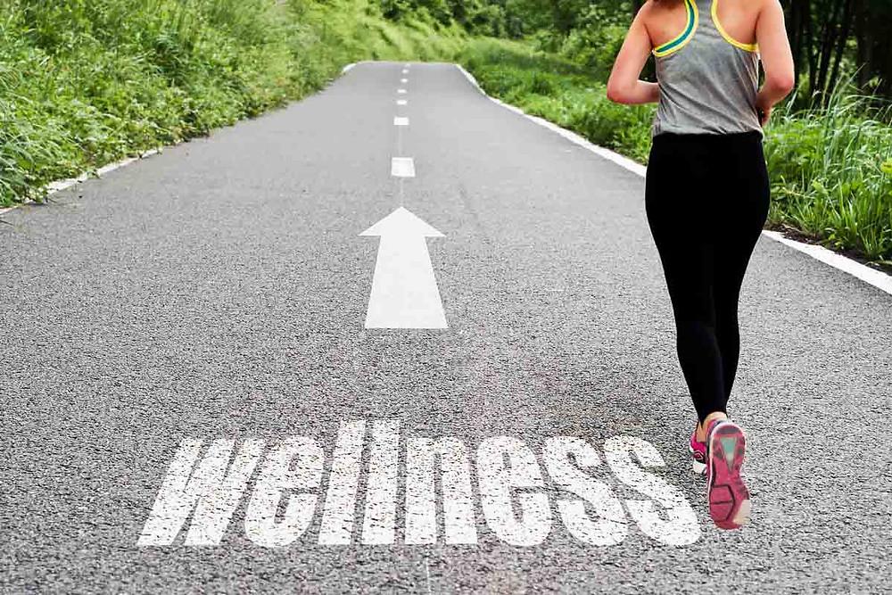 wellness continuum, progression towards health