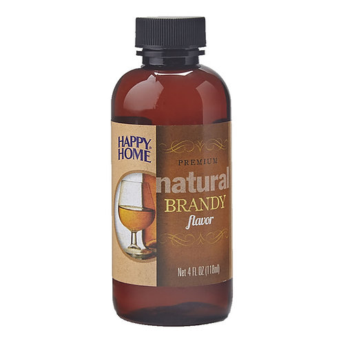Happy Home Natural Brandy Flavor 4 oz.