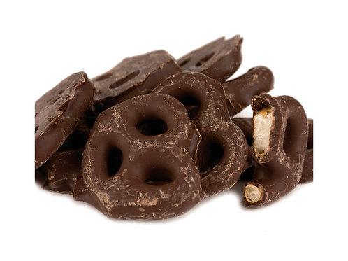 Dark Chocolate Mini Pretzels .75 lb.