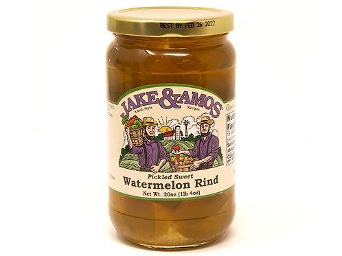 Jake & Amos® Sweet Watermelon Rind, 16 Oz