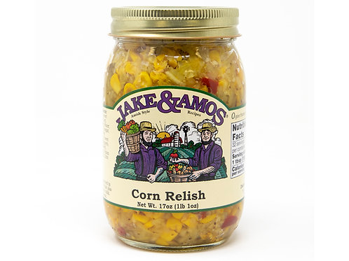 Jake & Amos® Corn Relish, 17 oz.