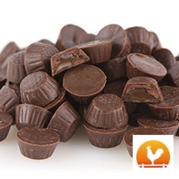 Milk Chocolate Caramel Cups, .70 Lb