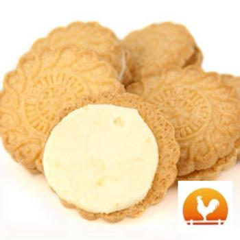 Coconut Creme Cookies, .75 Lb