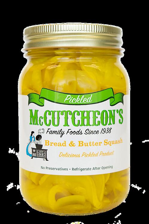 McCutcheon's® Pickled Bread & Butter Squash