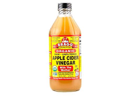 Bragg Organic Apple Cider Vinegar with Mother, 16 oz.