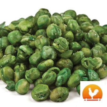 Roasted & Salted Green Peas, .50 Lb