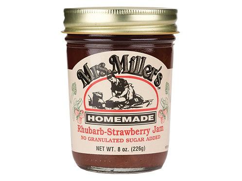 Mrs. Miller's® NSA Rhubarb-Strawberry Jam, 8 Oz