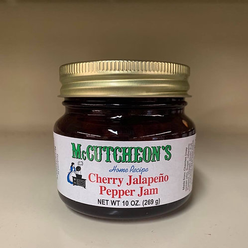 McCutcheon's Cherry Jalapeno Pepper Jelly 10 oz.