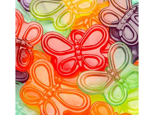 Gummi Butterflies, .75 Lb