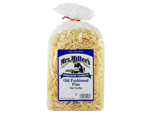 Mrs. Miller's Old Fashioned Fine Noodles, 16 oz.