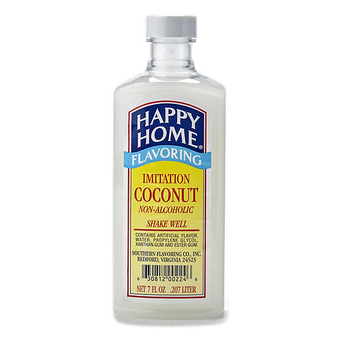 Happy Home Imitation Coconut Flavoring 7 oz.