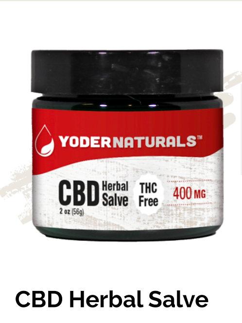 Yoder Naturals CBD Herbal Salve