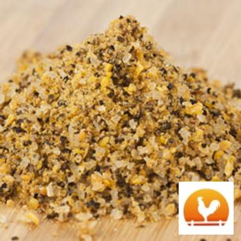 Natural Garlic Salt & Pepper, .30 lb.