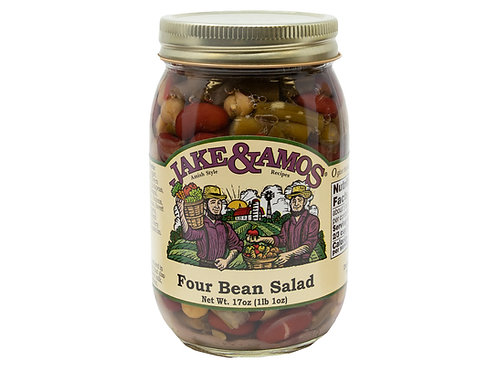 Jake & Amos® Pickled Four Bean Salad, 17 Oz