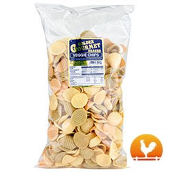 Golden Gourmet Veggie Chips, 12 Oz