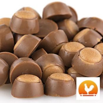 Mini Peanut Butter Buckeyes, .65 Lb