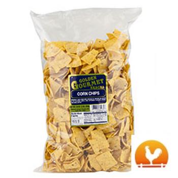 Golden Gourmet Corn Chips, 16 Oz