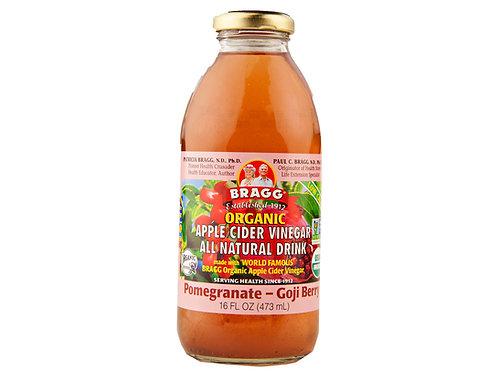 Bragg Organic ACV Drink-Pomegranate Goji Berry 1 lb.